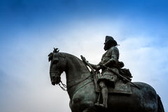 Staty Madrid Arkivfoto