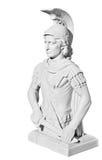 Staty med en stående av en man Arkivbild