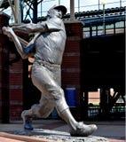 Staty Mickey Mantle, Bricktown basebollarena, oklahoma city arkivbild