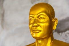 Staty nära den stora Buddhamonumentet, Phuket, Thailand Arkivfoton