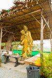 Staty nära den stora Buddhamonumentet, Phuket, Thailand Royaltyfri Foto