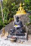 Staty nära den stora Buddhamonumentet, Phuket, Thailand Royaltyfria Bilder