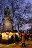 Staty- och julmarknad Royaltyfri Fotografi