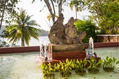 Staty på ön av Phuket, Thailand Royaltyfria Bilder