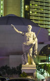 Staty på Caesars Palacehotellet Arkivfoto