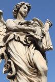 Staty på den Sanka Angelo Bridge i Rome Royaltyfri Foto