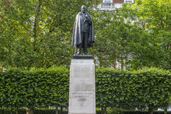 Staty på Franklin Delano Roosevelt Arkivbild