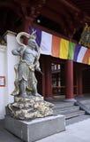 Staty på templet för Buddhatandrelik, kineskvarter, si Royaltyfri Fotografi