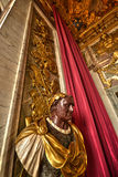 Staty på Versailles Arkivfoton