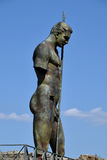 Staty Pompeii arkeologisk plats, nr Mount Vesuvius, Italien Arkivfoto