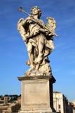 Staty Potaverunt mig aceto på bron Castel Sant ' Angelo, Rome Royaltyfri Fotografi