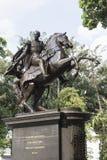 Staty Simon Bolivar royaltyfri bild