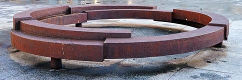 Staty som firar minnet av Roma som mördas i förintelse Arkivfoto