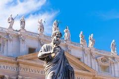 Staty St Peter Fotografering för Bildbyråer