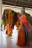 Staty Ta-khian i Thailand Arkivbilder