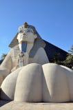 staty vegas för hotelllasluxor sphinx Arkivfoto