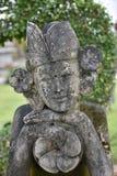 StatyBalinese eller Siamese blick på kameran Arkivfoto