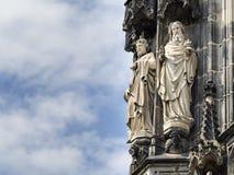 Statydomkyrka Aachen Arkivbilder