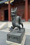 Statye do dragão do gongo de Yonghe Imagem de Stock