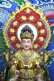 Statyer av buddistisk gudkineskonstform Royaltyfri Foto