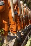 Statyer av buddistiska nunnor Royaltyfri Foto