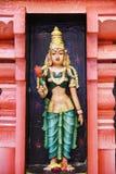 Statyer av hinduiska gudar arkivfoton