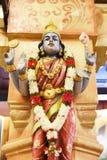 Statyer av hinduiska gudar arkivbild