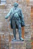 Statyer på den Hohenzollern slottsmåstaden Hohenzollern royaltyfri fotografi