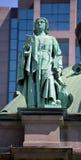 Statyer på Domkyrka-basilikan av Mary, drottning av världen Arkivbilder