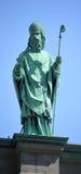 Statyer på Domkyrka-basilikan av Mary, drottning av världen Fotografering för Bildbyråer