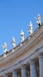 statyer vatican Arkivbild