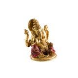 Statyett av den hinduiska guden Ganesha fotografering för bildbyråer