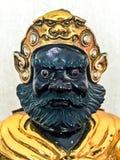 Statyett av den legendariska kinesiska guden av kriget Arkivfoton