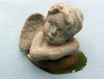 Statyett av en ängel Royaltyfria Foton