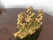 Statyetter av tre hästar Fotografering för Bildbyråer