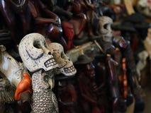 Statyettvoodoo i Haiti Royaltyfria Bilder