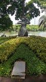 Statyn arkivfoton