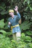 Statyn av byinvånaren i den Parkï för röd armé ¼en Œshenzhen, porslin Royaltyfri Bild
