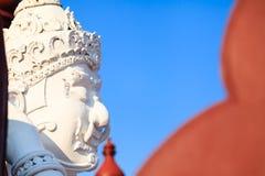 Statyn av den thailändska jätten för Lanna stil i kungliga Flora Expo Royaltyfri Bild