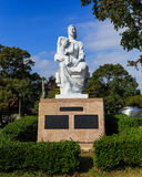 Statyn av fred på Nagasaki fred parkerar royaltyfria bilder