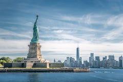 Statyn av frihet Arkivbilder