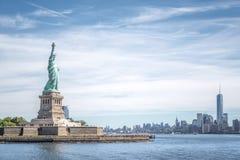 Statyn av frihet Arkivbild