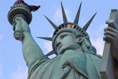 Statyn av frihet, Amerika, amerikanskt symbol, Förenta staterna, New York royaltyfria bilder