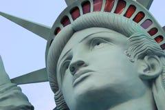 Statyn av frihet, Amerika, amerikanskt symbol, Förenta staterna, New York, Las Vegas, Guam, Paris arkivfoto