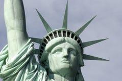 Statyn av frihet av New York Arkivfoto