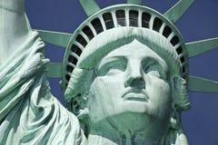 Statyn av frihet detaljen Royaltyfria Foton
