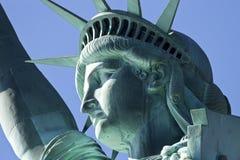 Statyn av frihet detaljen Royaltyfri Bild