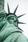 Statyn av frihet på New York City Arkivbilder