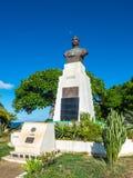 Statyn av general Joffre, Madagascar Arkivbilder