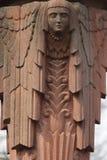 Statyn av gudinnan Hera i grekisk mytologi och Juno i R Royaltyfri Bild